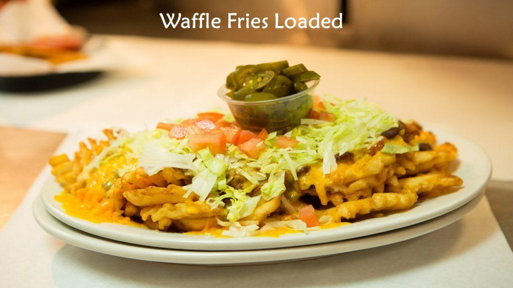 Waffle Fries Loaded